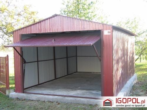 garaż blaszany, fot. Igopol
