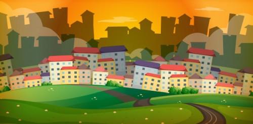 mieszkanie w dużym mieście