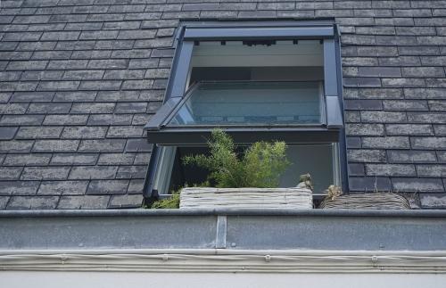 przeciek dachu
