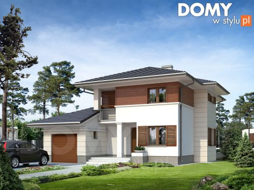 Projekt domu Cyprus