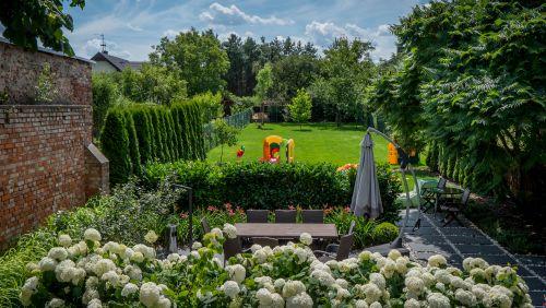 strefy w ogrodzie
