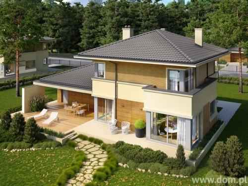 projekt domu piętrowego